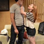 Abraham Makany and Becky Byers as Raf and Ronnie in Advance Man, directed by Jordana Williams