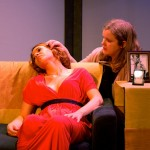 Amy Lynn Stewart and Rebecca Comtois in Viral, directed by Jordana Williams