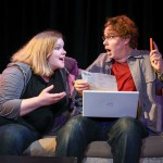 Becky Comtois and Mac Rogers in Ligature Marks, directed by Jordana Williams