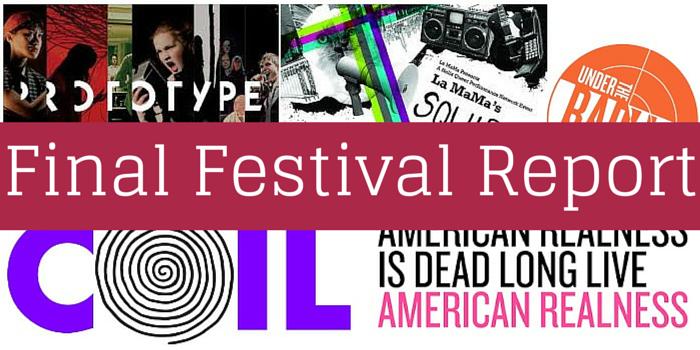 Final Festival Report