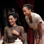 "Rosa Arredondo as ""Madame"" and Monique Coleman as Claire in 'The Maids' - Photo by Rachael Shane"